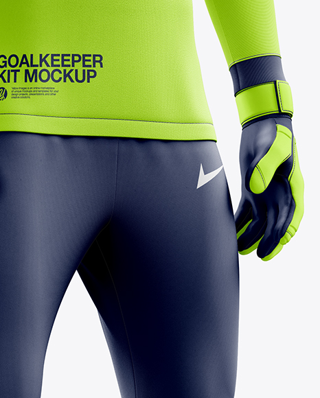 Download Soccer Pants Mockup Halfside View Yellow Images