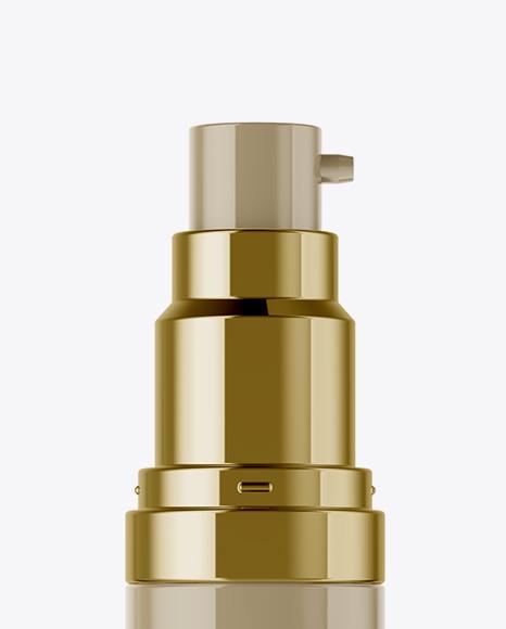 15ml Glossy Spray Bottle Mockup