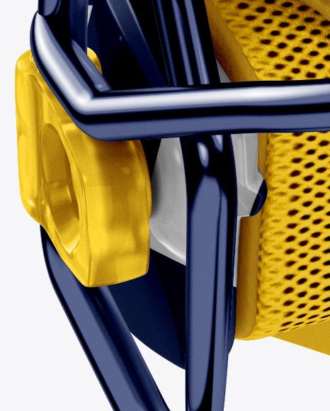 American Football Helmet Mockup - Front View