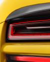 Porsche 918 Spyder Mockup - Back View
