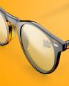 Sunglasses Mockup - Half Side View (High Angle Shot)