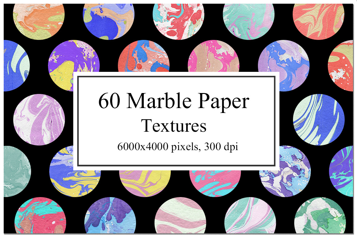 60 Marble Paper Textures