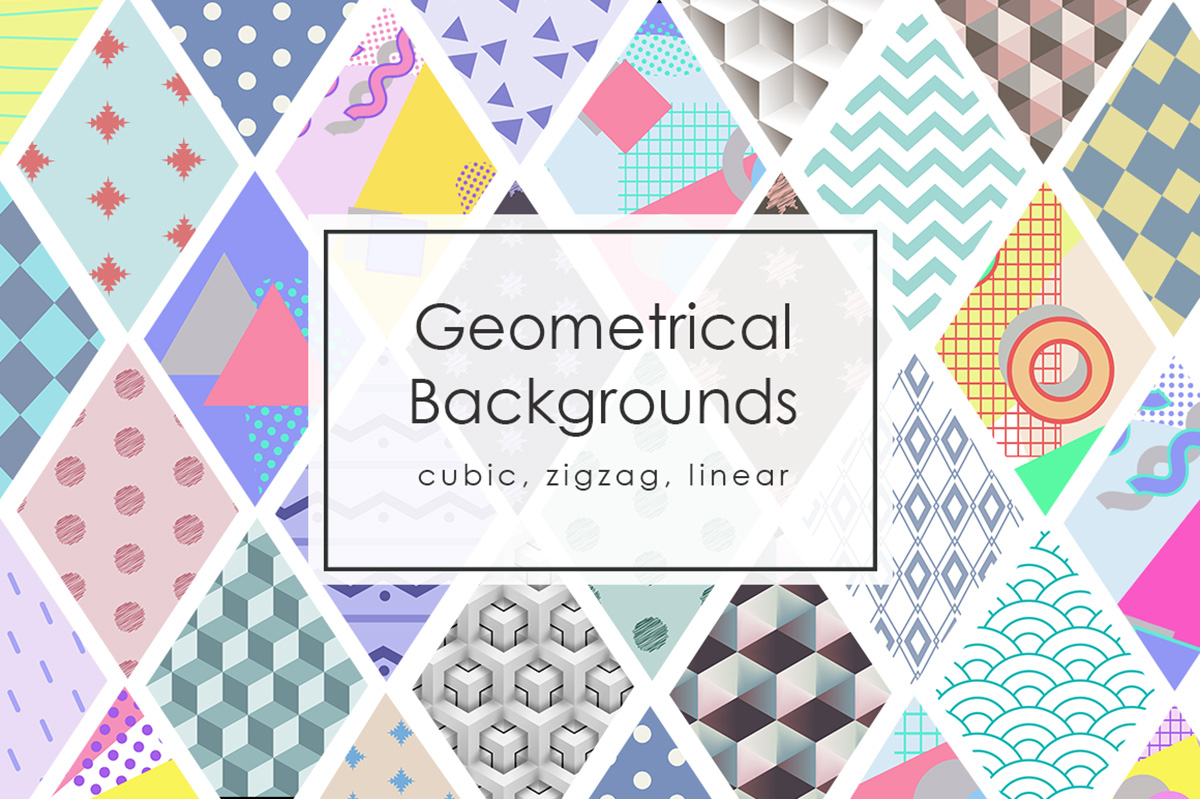42 Geomertic Backgrounds