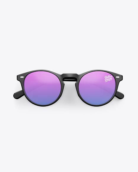 Sunglasses Mockup - Top View