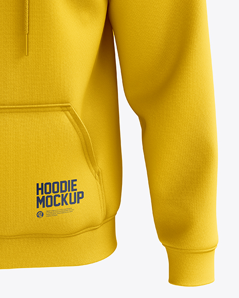 Men's Heavyweight Hoodie mockup (Front View)