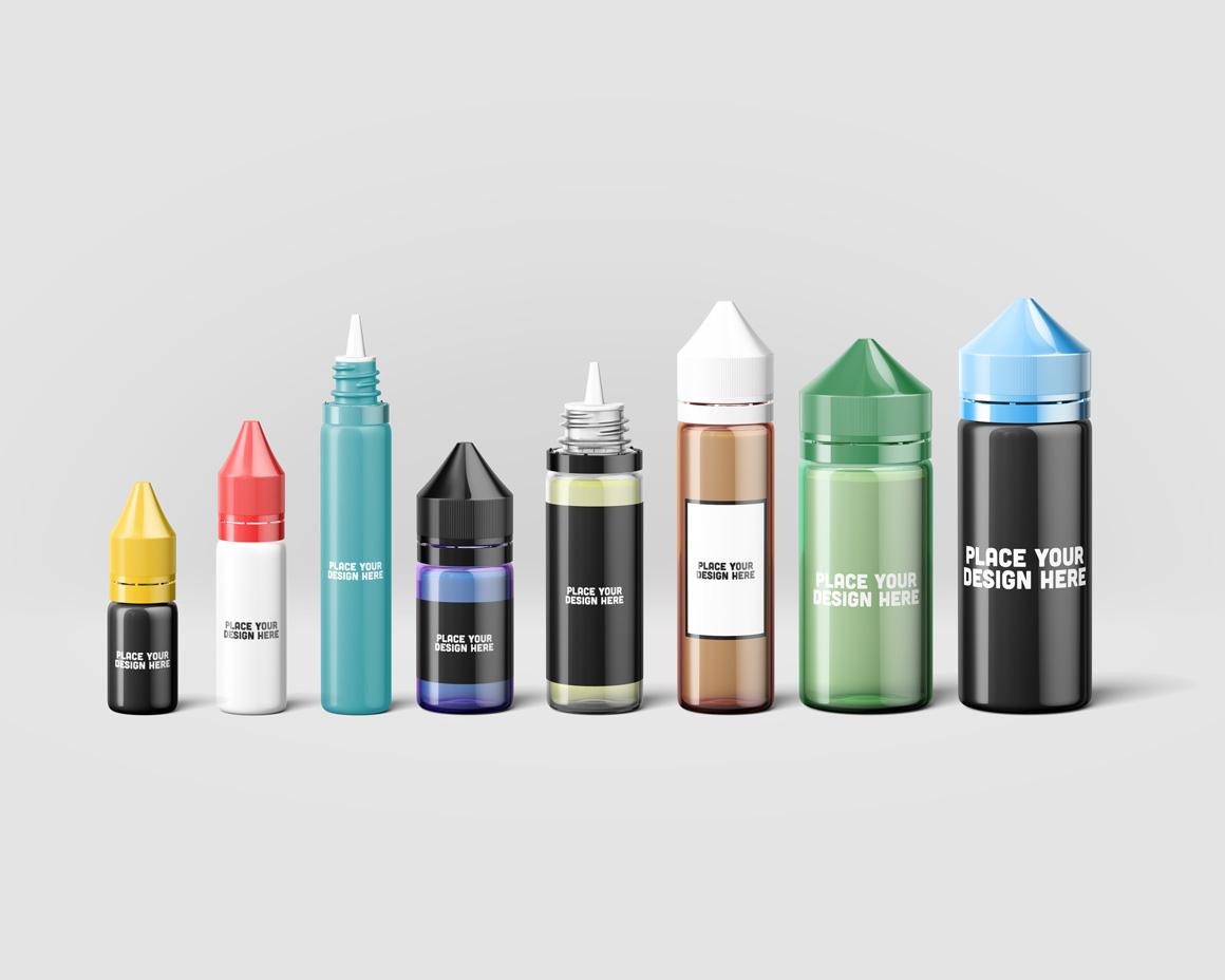 Cosmetic Bottles Mockup Vol.5