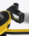 Drone Mockup - Half Side View (High-Angle Shot)