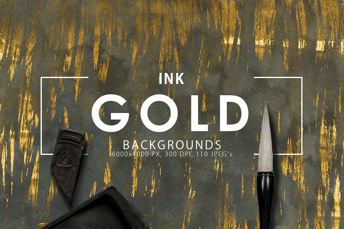 Only Ink & Marble Backgrounds Bundle