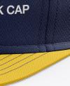 Flex Cap mockup (Half Side View)