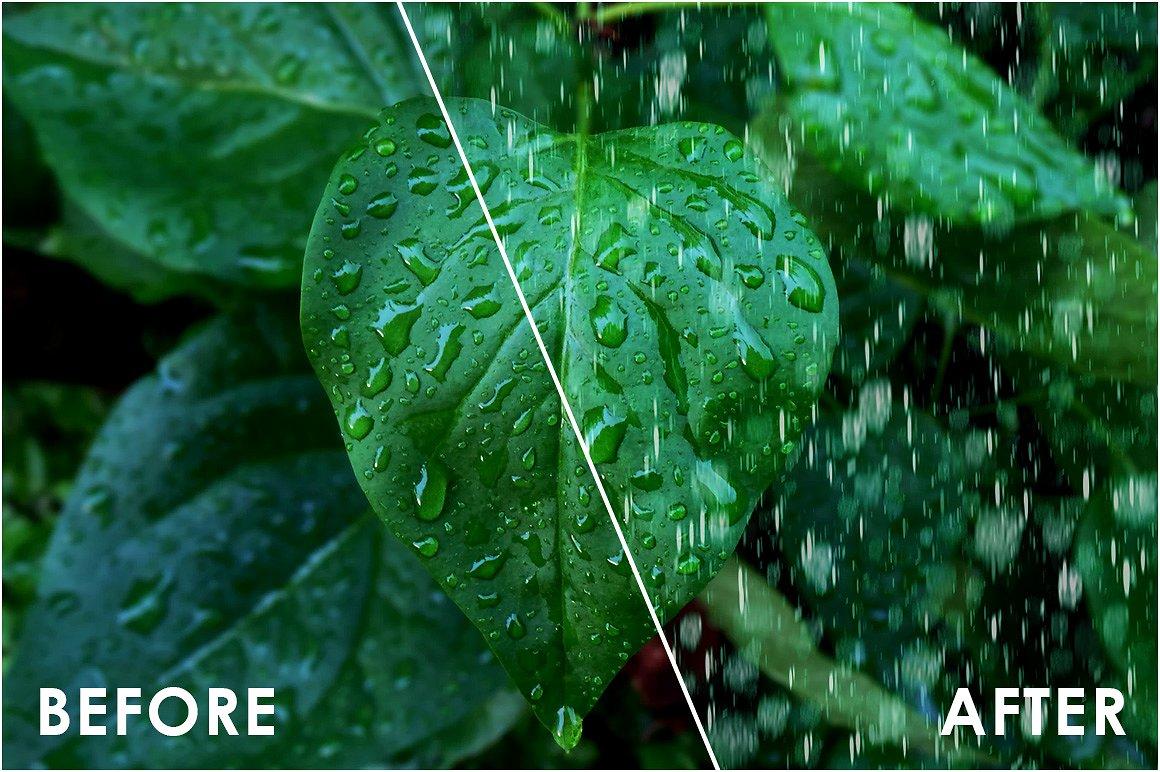 Realistic Rain Overlays