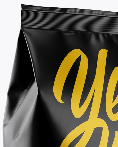 Download Matte Snack Package Mockup - Half Side View in Bag & Sack ...