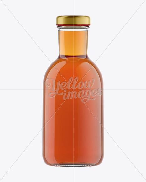 Download Clear Bottle With Red Apple Juice Mockup PSD - Free PSD Mockup Templates