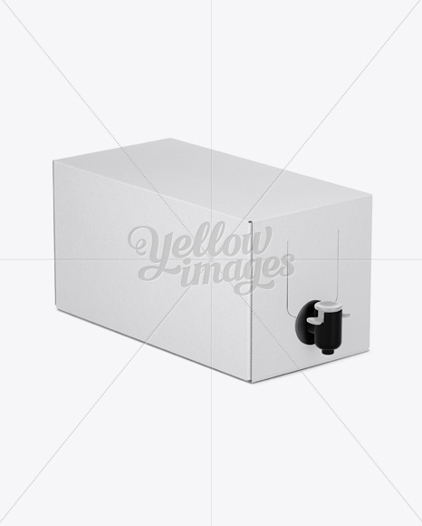 Free Download Stand Up Wine Box Golden Edges Mockup Half Side View High Angle PSD - Free PSD Mockup Templates