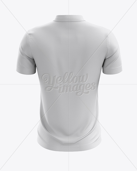 Download Soccer T Shirt Mockup Back View In Apparel Mockups On Yellow Images Object Mockups PSD Mockup Templates