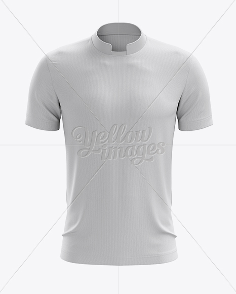 Soccer T-Shirt Mockup - Front View