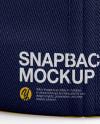 Flex Cap mockup (Back View)