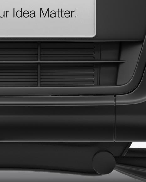 GAZelle NEXT Europlatform Mockup - Front View