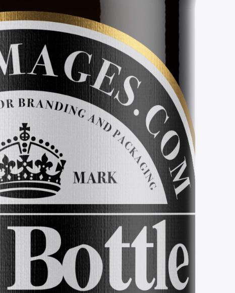 Download 330ml Dark Amber Beer Bottle Mockup PSD - Free PSD Mockup Templates