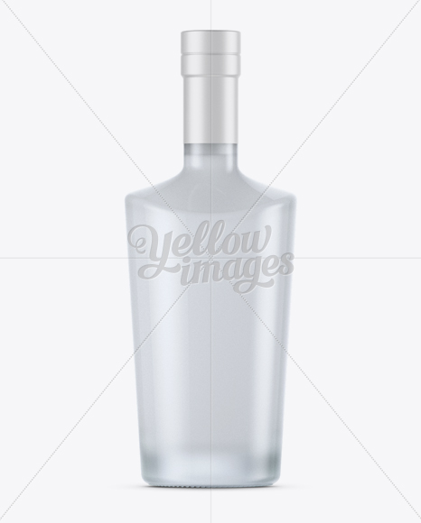Download Black Mat Liquor Bottle Mockup Front View In Bottle Mockups On Yellow Images Object Mockups PSD Mockup Templates