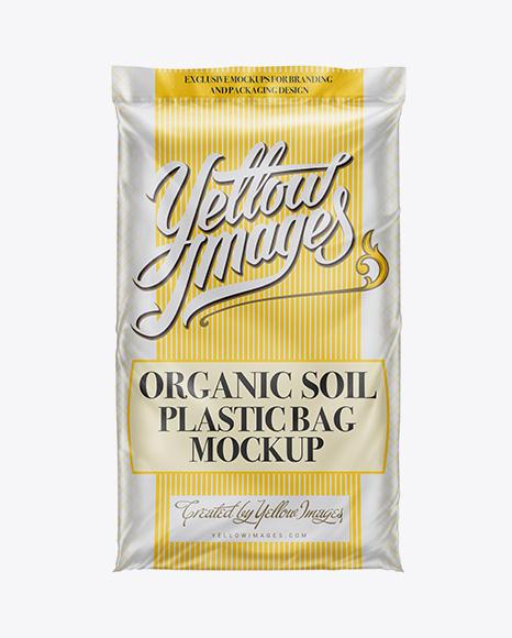 Plastic Bag W/ Organic Soil Mockup (2 cbft)