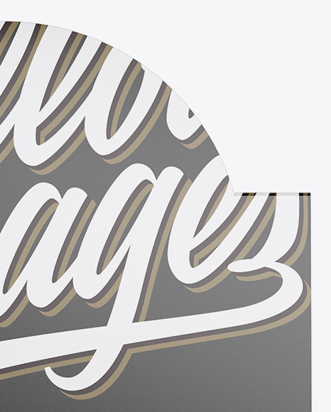 16 Snack Bars Glossy Display Box Mockup - Front View