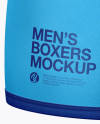 Men's Boxer Briefs Mockup - Half Side View