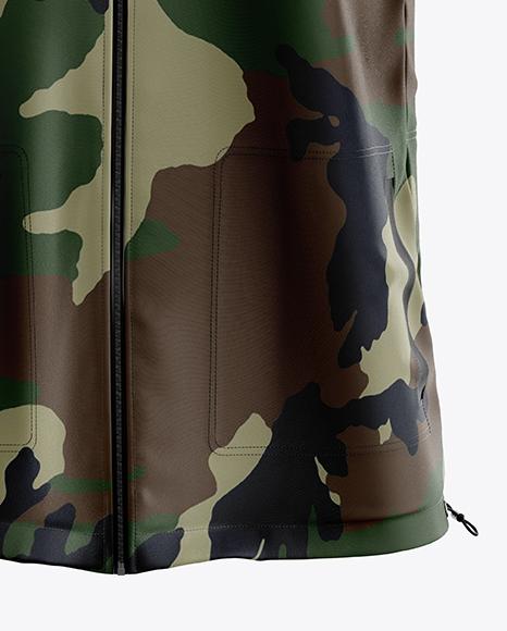 Men's Jacket Mockup - Front View