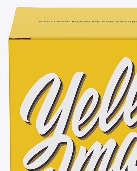 Download Paper Burger Box Mockup Front View High Angle Shot PSD - Free PSD Mockup Templates