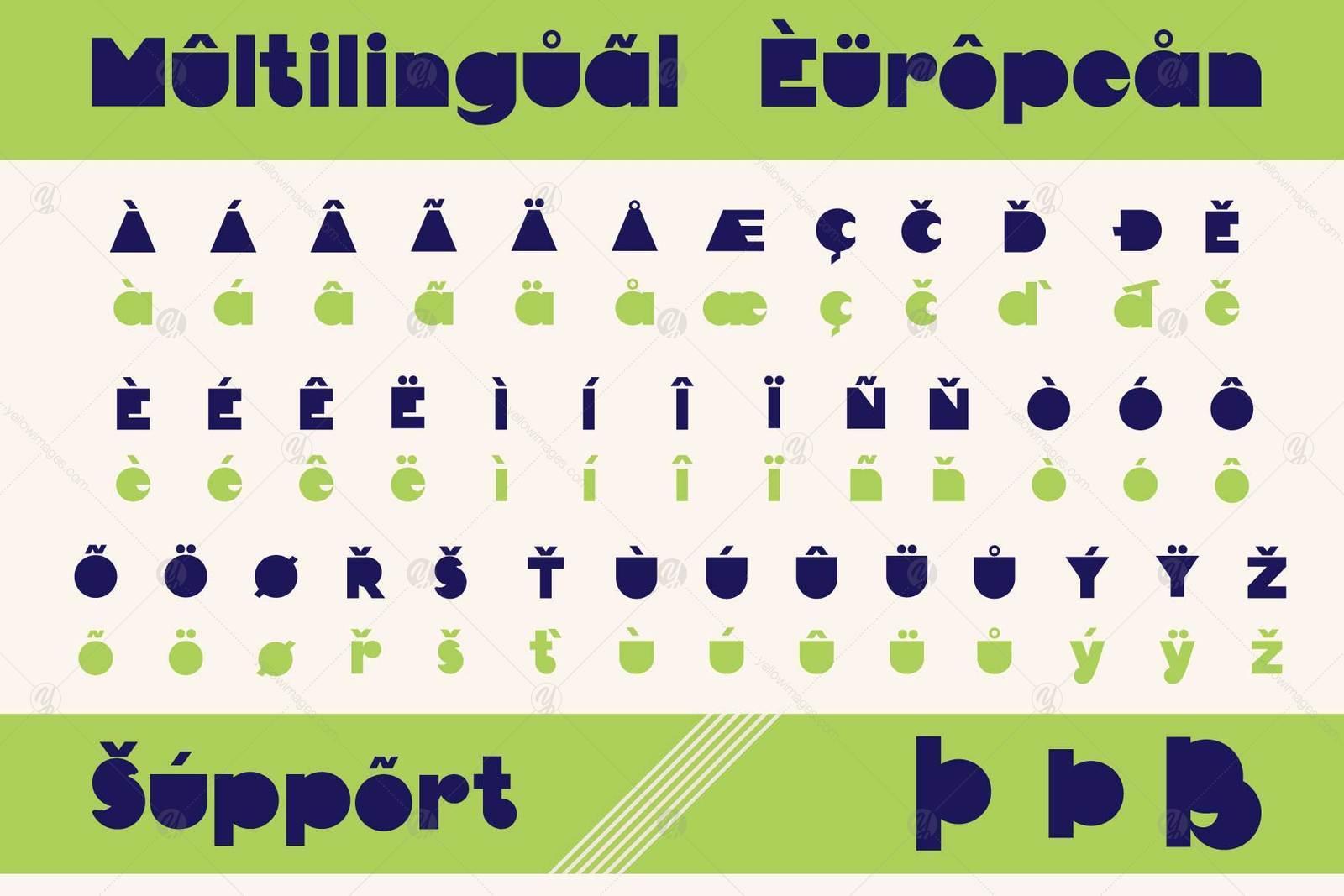 TrigonWeel font family