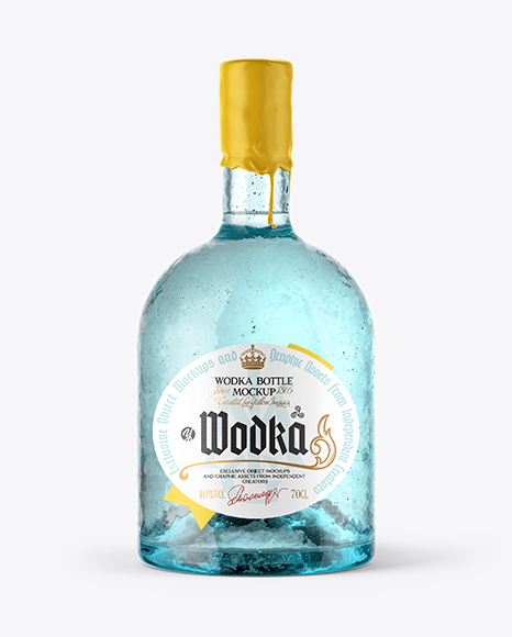Antique Bottle Mockup