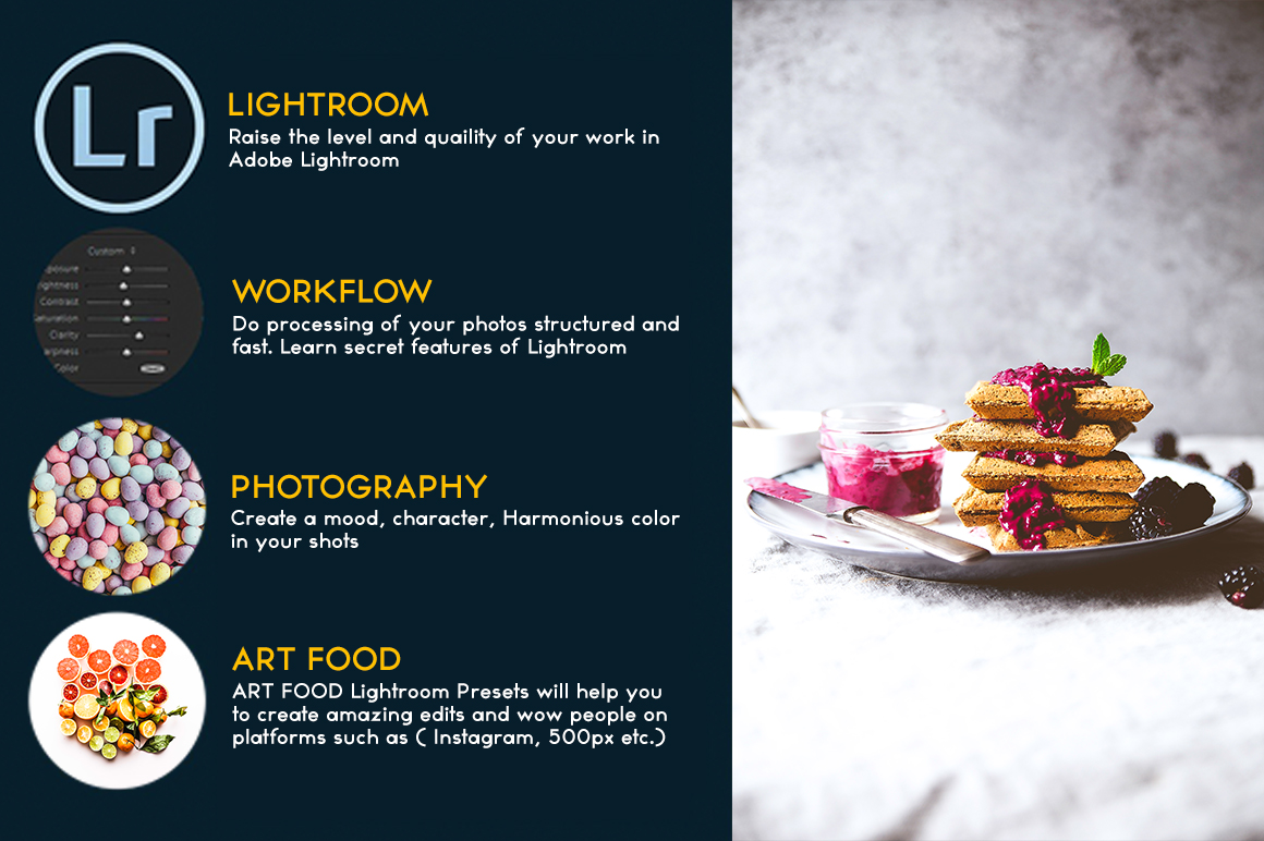 Food Lightroom Presets