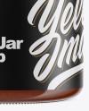 BBQ Sauce Jar Mockup