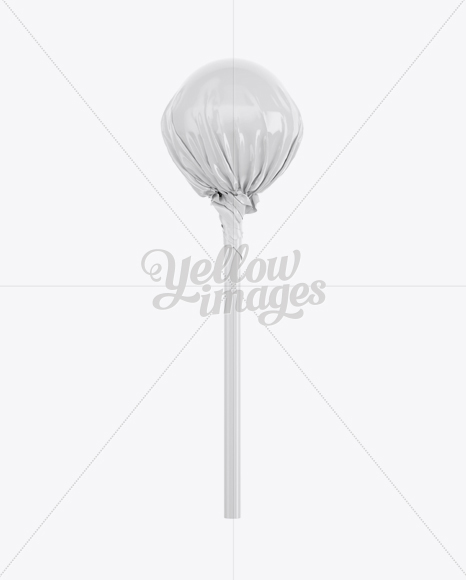 Ball Lollipop Mockup