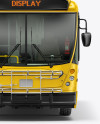 Bus Mockup - Front View