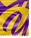 Matte Three Condom Packaging Mockup