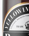 330ml Clear Glass Brown Ale Bottle Mockup