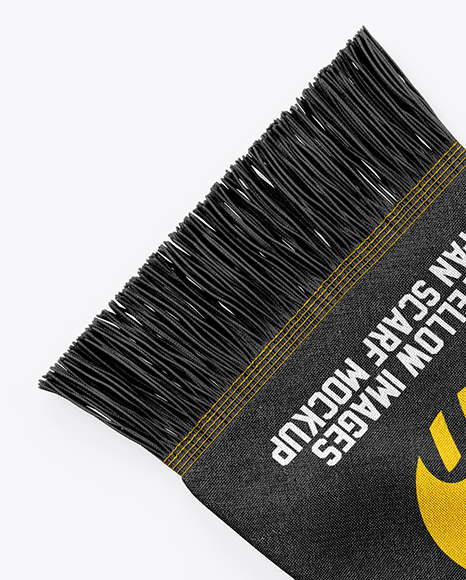 Download Fan Scarf Mockup Yellowimages