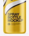 50ml Matte Spray Bottle Mockup