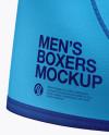 Men's Boxer Briefs Mockup - Back View