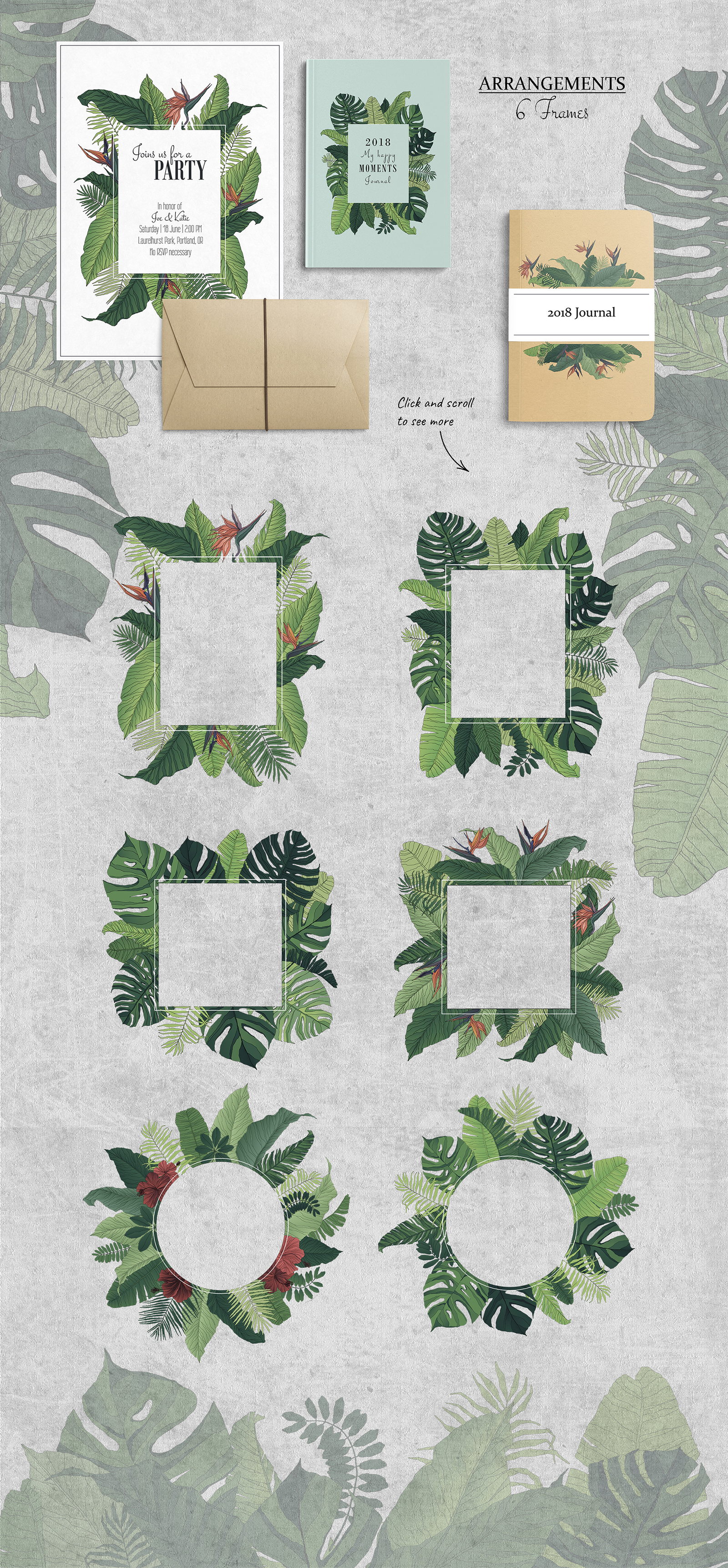 Tropical Set: Patterns & Elements