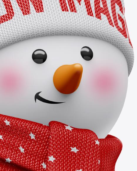 Snowman Mockup