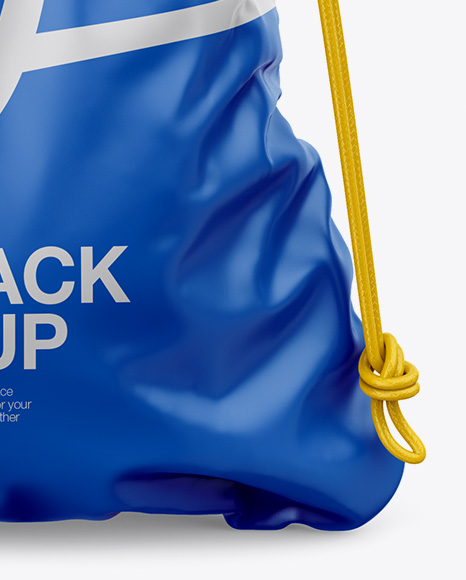 Download Leather Gym Sack Mockup Yellowimages