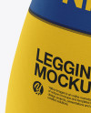 Women's Leggings Mockup - Front View