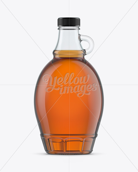 Download Glass Maple Syrup Bottle Mockup In Bottle Mockups On Yellow Images Object Mockups PSD Mockup Templates