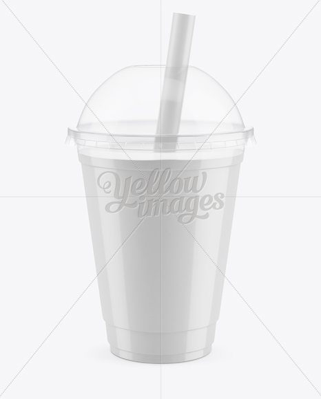 Bubble Tea Cup Mockup In Cup Bowl Mockups On Yellow Images