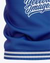 Men's Varsity Jacket Mockup - Back View - Baseball Bomber Jacket