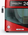 London Bus Mockup - Front View