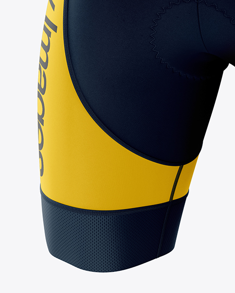 Men's Cycling Skinsuit mockup (Half Side View)