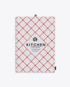 Kitchen Towel Mockup - Top View