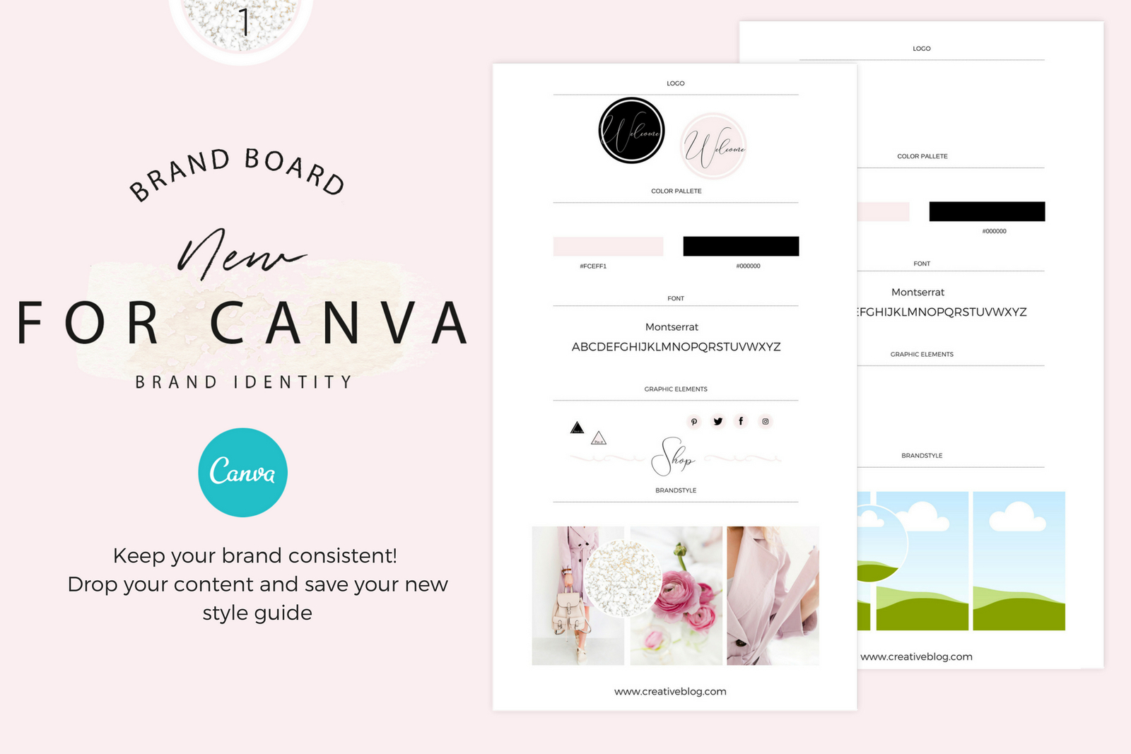 Brandboards for Canva